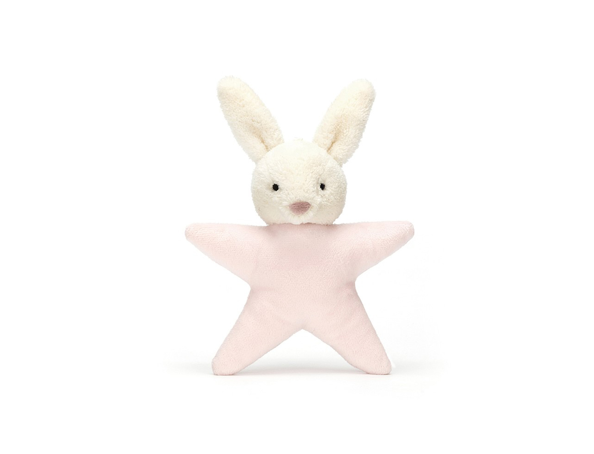 Star Bunny Pink Rattle