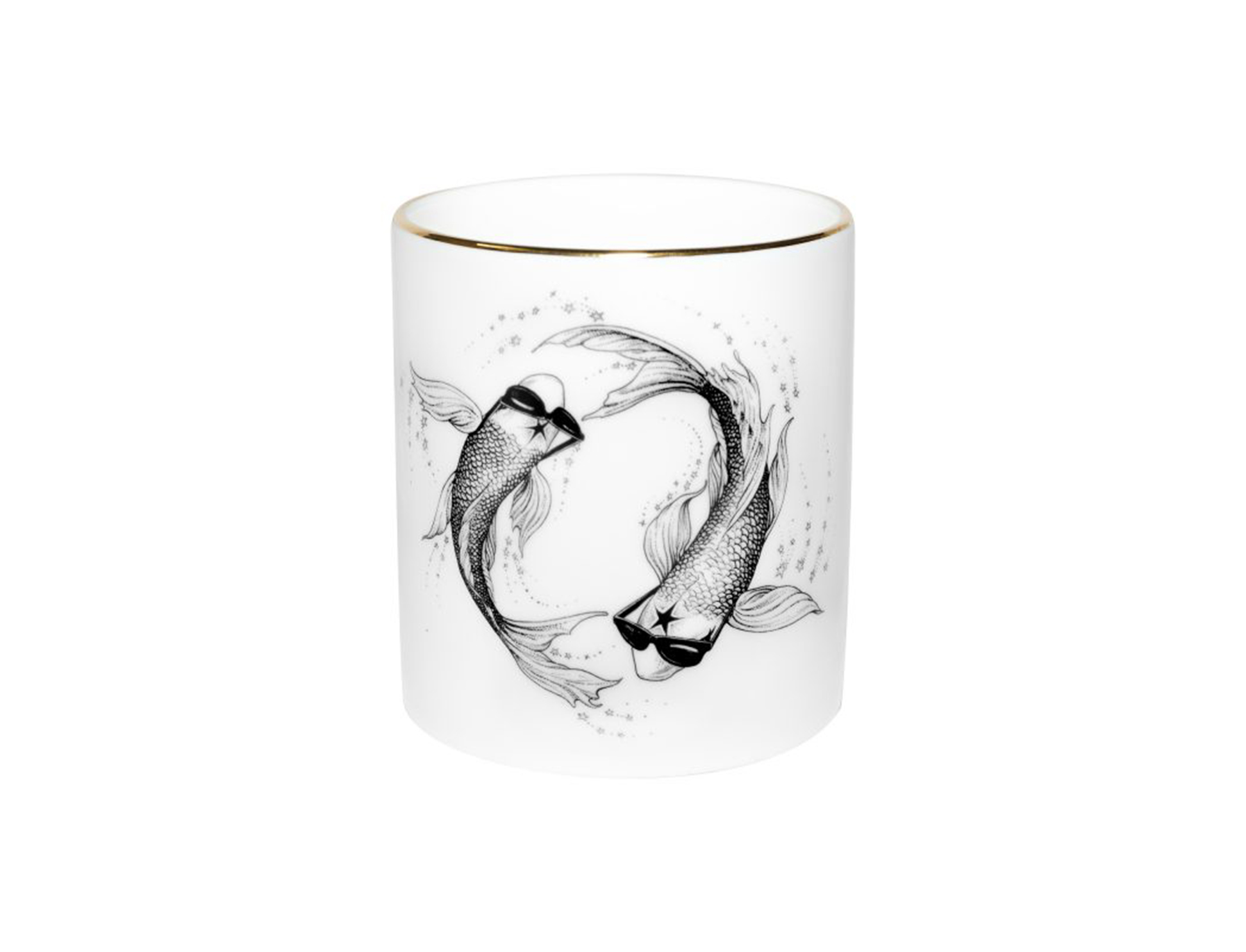 Cutesy decorative candles -Pisces
