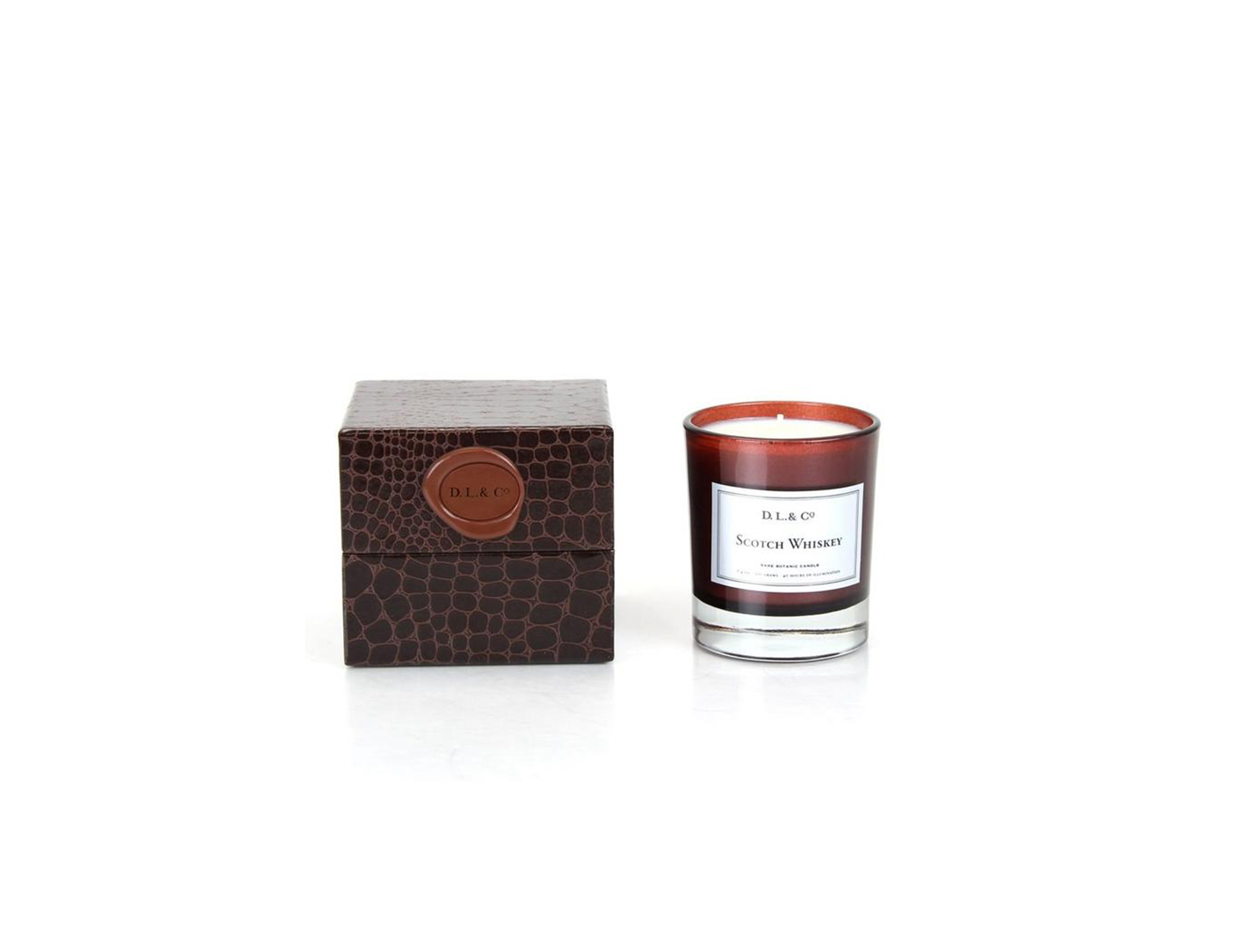 Scotch Whiskey Scented Candle
