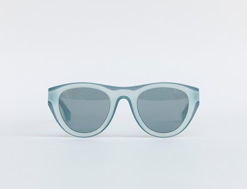 Contrast Trim Sunglasses